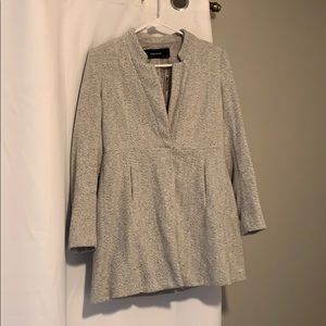 Formal Pleated Zara Jacket